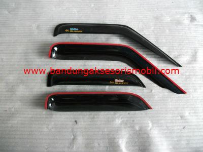 Talang Air Blazer Original Black Depan Belakang