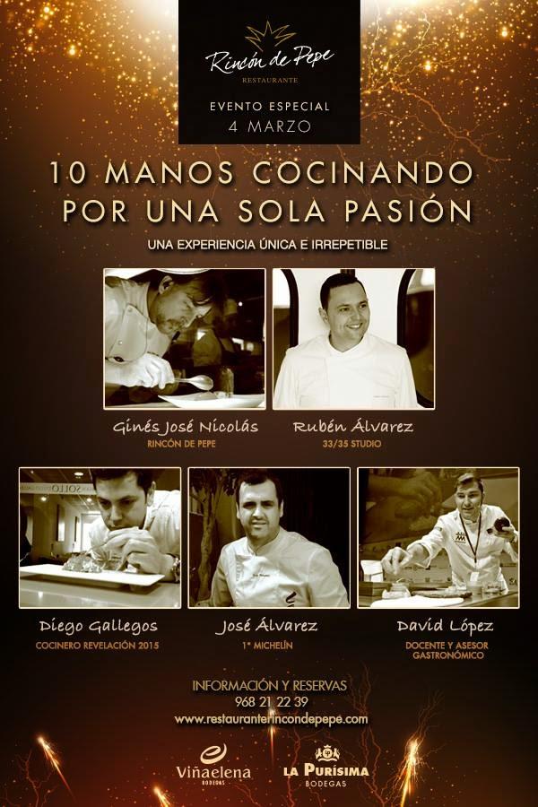 10 manos cocinando por una pasión