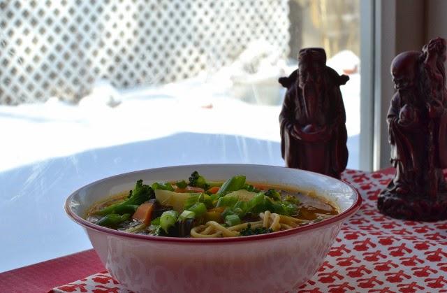 Arunachal Pradesh -- Thukpa (Vegetarian Noodle Soup)