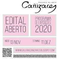 Edital aberto para exposição na Galeria Cañizares 2020