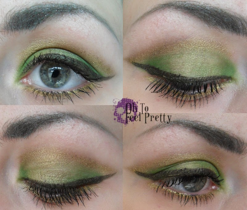 St Patricks Makeup