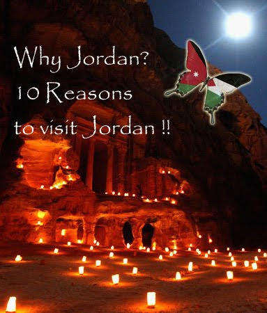 Why Jordan? 10 Reasons to visit Jordan