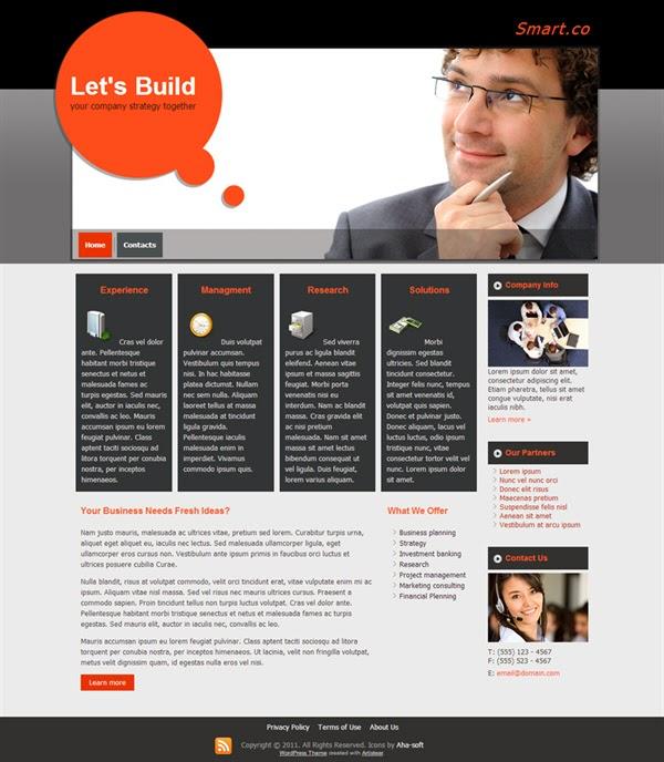 Smart Co - Free Wordpress Theme