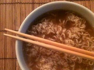Sopa de Sustancia con Fideos Chinos