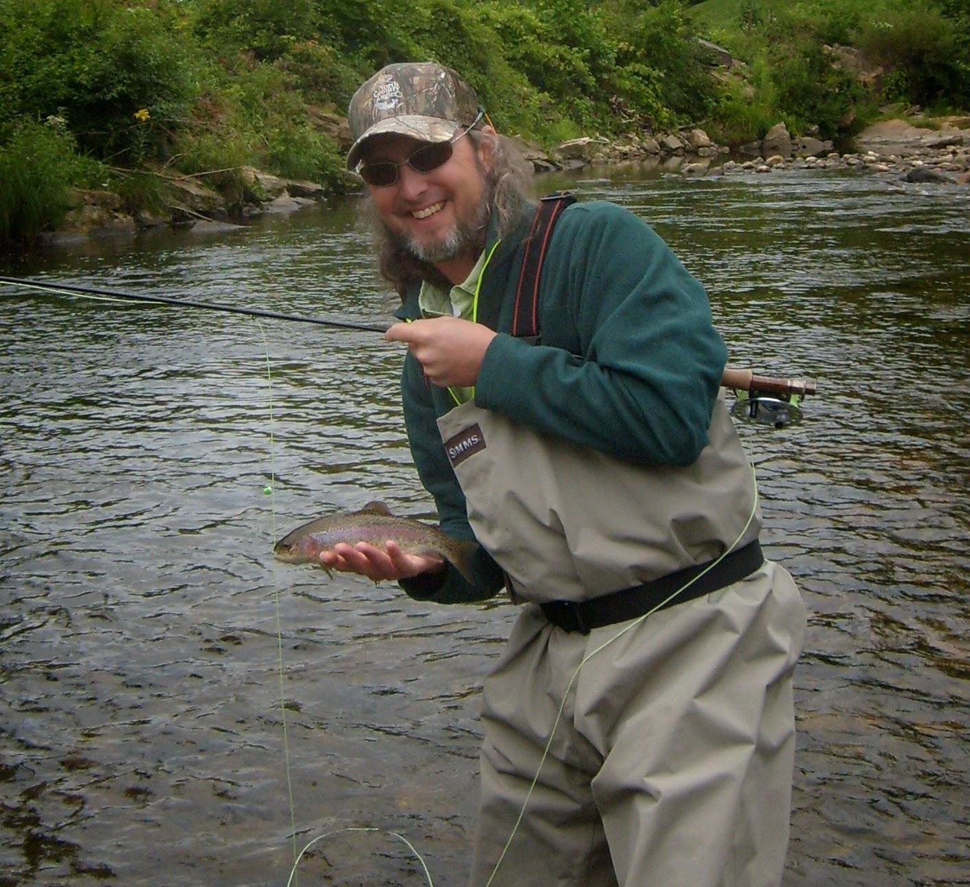 As a participant of the 50 state game my client this for Vermont trout fishing