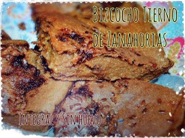 TARTA DE ZANAHORIAS SUPER LIGERA (SIN HUEVO Y SIN LÁCTEOS)