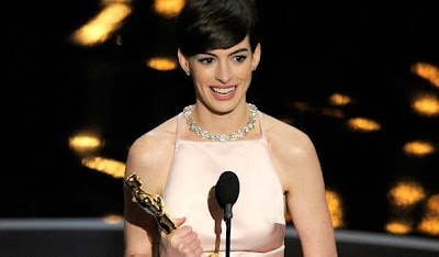 Oscar 2013 Best Actress Anne Hathaway for Les Misérables (2012)