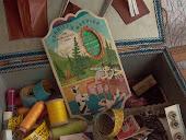 Caixa de costura antiga