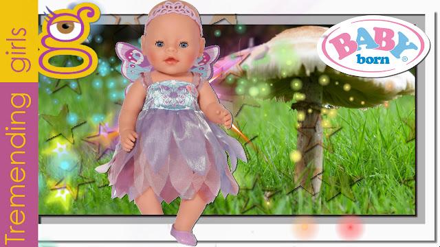 Nuevo Baby Born muñeco interactivo Pais de las Maravillas - Wonderland baby born