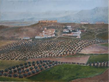 La Ventosilla y el castillo de Fuentetétar, campiña de Jaén (12P)