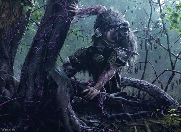 Chase Stone deviantart incríveis ilustrações fantasia card games magic the gathering criaturas magia