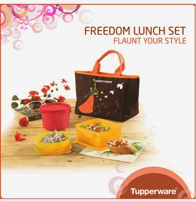 Tupperware,Tupperware products, freedom lunch set,lunch set