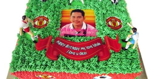 Cake Images With Name Hari : Kek Hari Jadi Edible Image untuk cake Manchester United ...