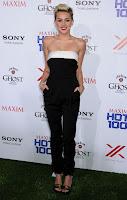 Miley Cyrus black Valentino jumsuit