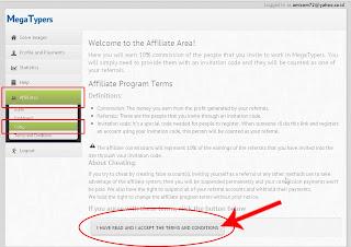 Lowongan kerja data entry part time cara membuat code invitation berikut cara membuat code invitation megatypers 1 pertama pastikan anda sudah login ke akun megatypers lalu pilih affiliates codes stopboris Choice Image