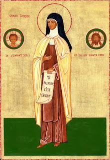 1 octombrie - Sfânta Tereza a Pruncului Isus și a Sfintei Fețe