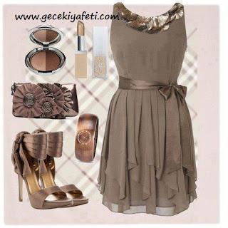 gece elbiseleri kombinleri