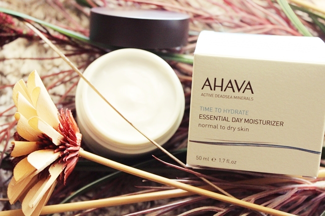AHAVA: Essential Day Moisturizer for dry and normal skin. Ahava Osmoter products. Ahava best creams. Dead sea minerals skincare.