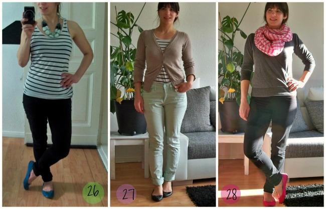 Die Fashion Challenge 12 Kleidungstsücke für 30 Tage