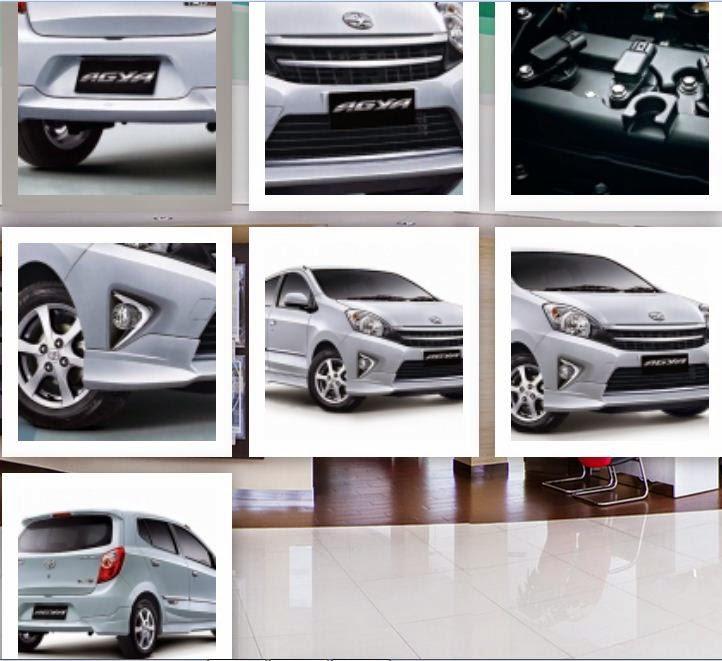 Eksterior Toyota Agya TRD