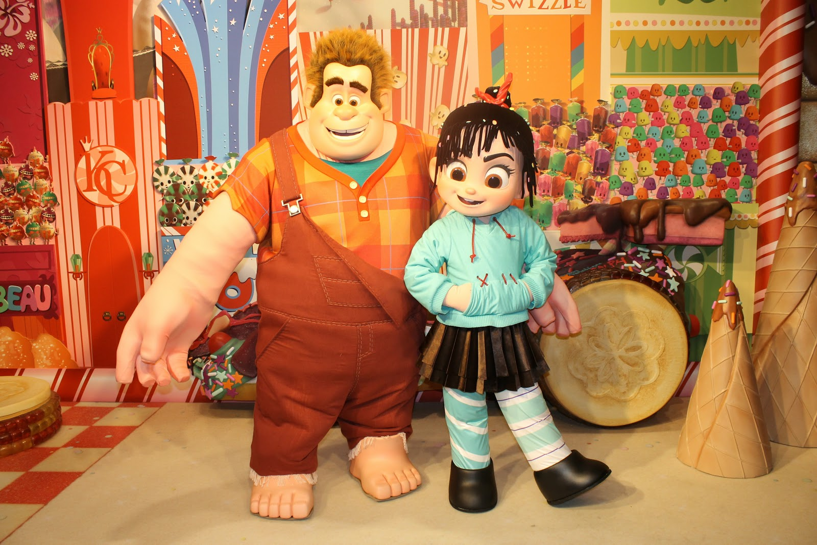 Unofficial disney character hunting guide wreck it ralph and wreck it ralph and venellope are now greeting guests inside hollywood studios animation building check out the stars from the upcoming movie daily kristyandbryce Choice Image
