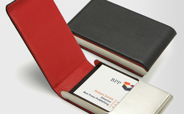 Promotional Items Personalized Business Card Holders for