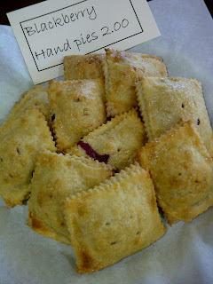 hand made small pies