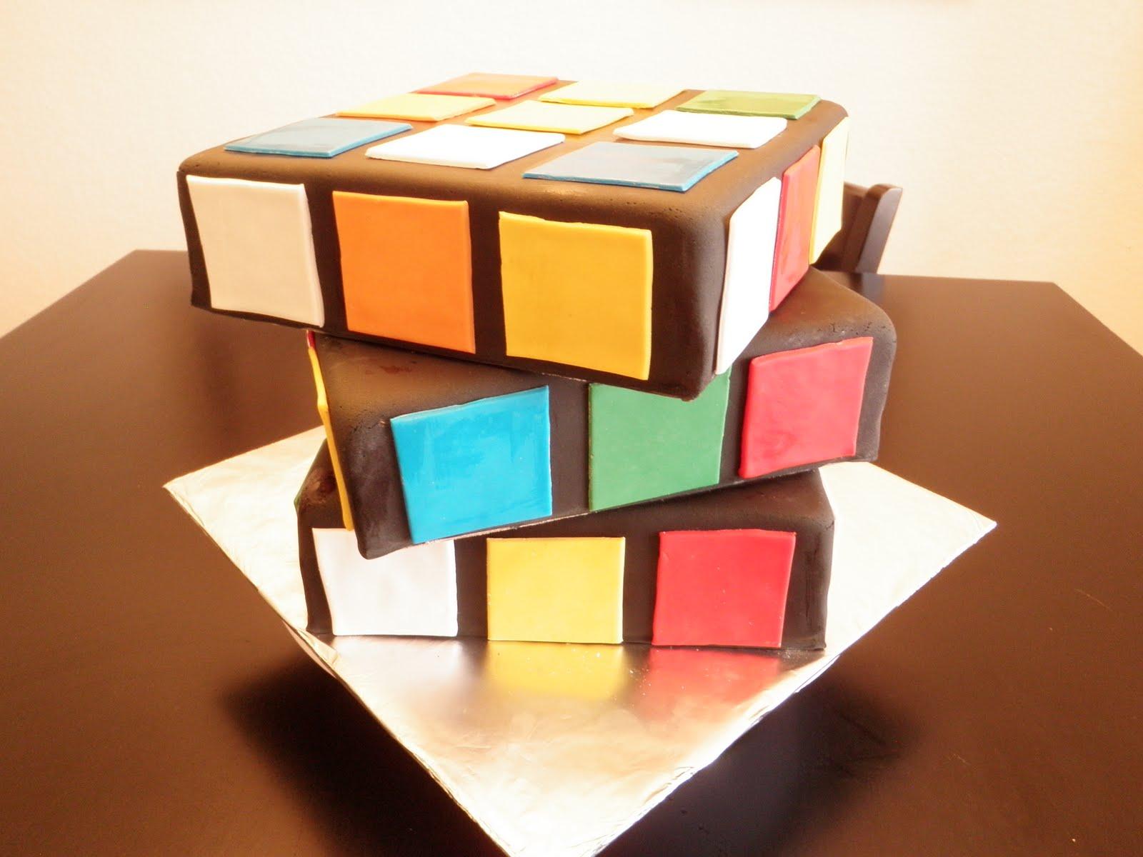 Cake Optimist Rubix Cube Success