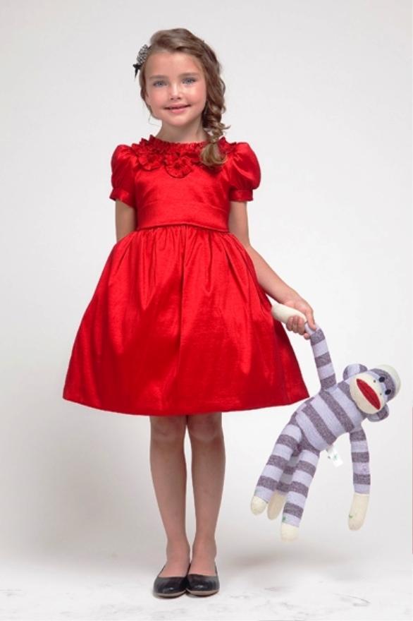 Dress%2BNatal%2BWarna%2BMerah%2BUntuk%2BAnak%2BPerempuan 14 model baju natal yang lucu untuk anak anak si gambar,Model Baju Wanita Untuk Natal
