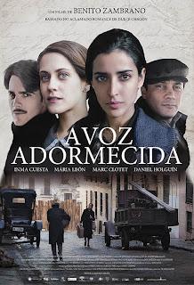 """Poster do filme """"A Voz Adormecida"""""""