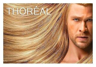 Segredo do cabelo de Thor
