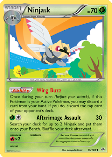 Ninjask Roaring Skies Pokemon Card