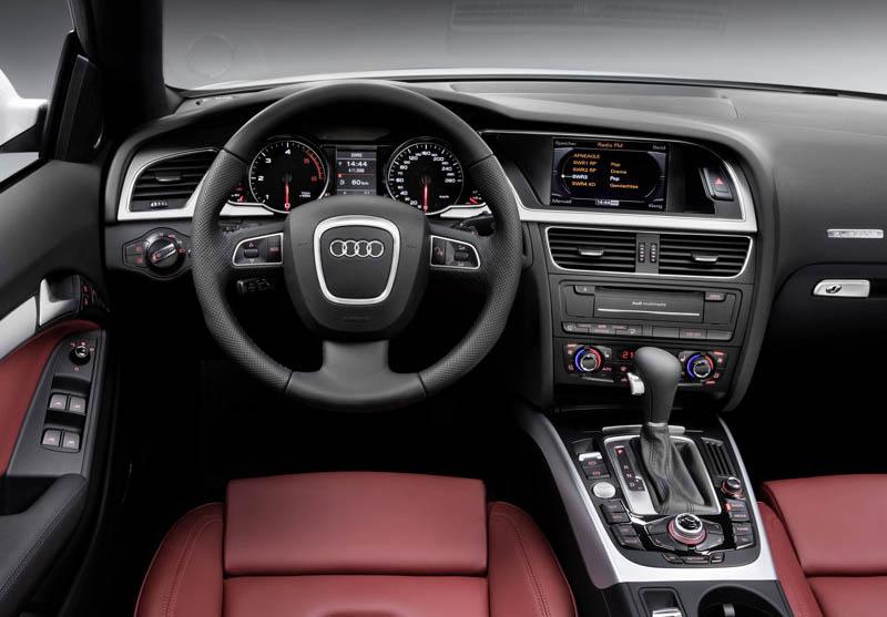 Audi A5 Convertible 2010. Audi A5 Cabriolet, 2010