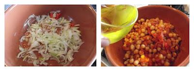 Ceci allo zafferano ricetta di legumi stufati in coccio