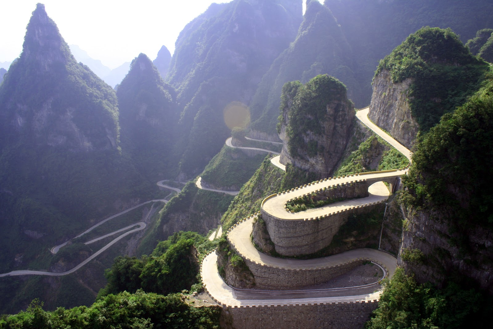Xinxiang China  city pictures gallery : Moto Mucci: DAILY INSPIRATION: Tianzi Mountain, China