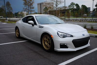 Subaru BRZ Ride Height