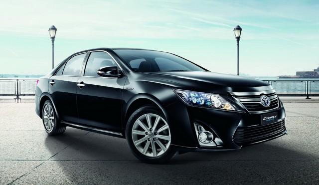 new camry 2012