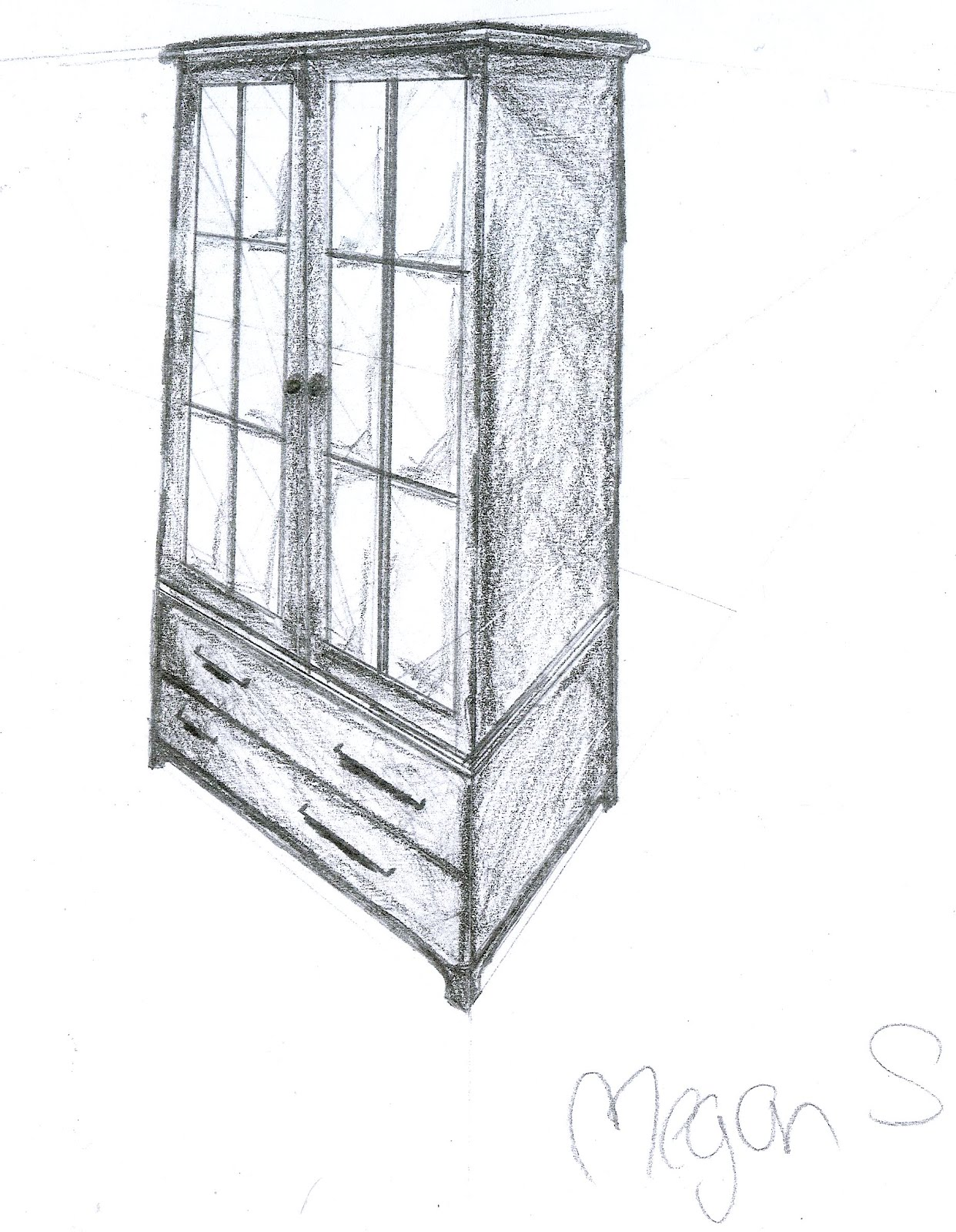 Additional Early Furniture Sketches