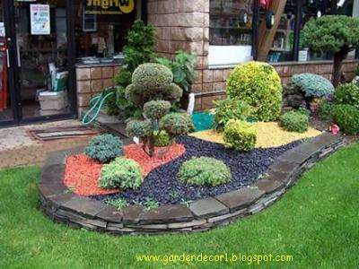 Garden decor garden decorative stones for Decorative garden stones