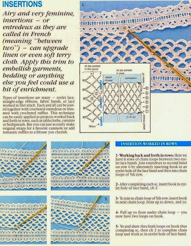 técnicas de crochê