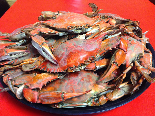 Boiled Crabs at Seafood Palace
