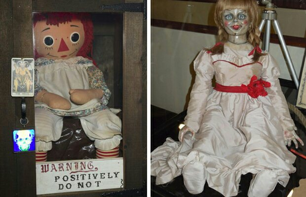 boneka annabelle yang diyakini dihuni oleh arwah jahat-1