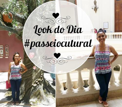 Look do dia. #passeiocultural.