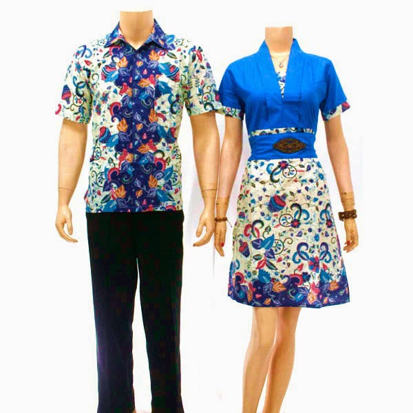 Baju Batik Printing Pasangan