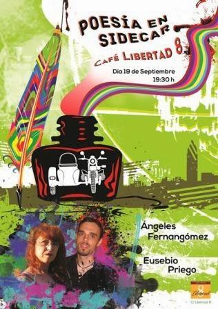 Ángeles Fernangómez y Eusebio Priego en Sidecar