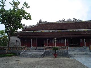 Supreme Harmony Palace. Imperial City. Hue (Vietnam)