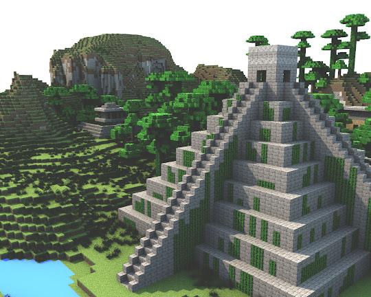 Costruzioni minecraft: tempio inca