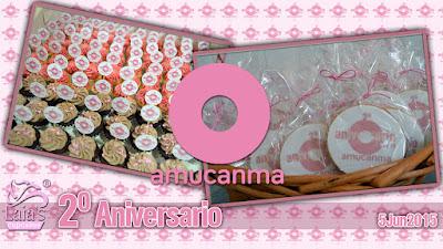 Cookies galletas y mini cupcakes decorados fondant amucanma Laia's Cupcakes Puerto Sagunto