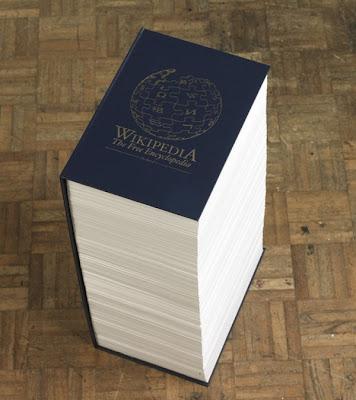 Wikipedia pe hârtie