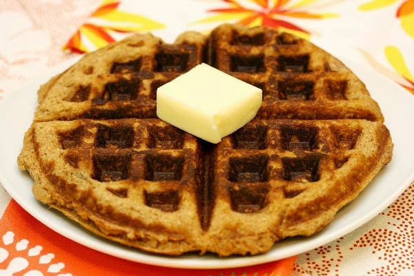 Sweet Potato Waffles | In The Kitchen With Honeyville